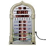 MYAMIA Mezquita Pared Reloj Azan Despertador Ramadan Al-Hara