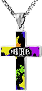 BEKAI MERC_edes Ben_Z Faith Cross Zinc Alloy Necklaces (24in)