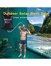 20L de calefacción solar de agua bolsa de energía de calefacción del baño al aire libre que acampa portable ducha bolsa de picnic Bolsa Agua Barbacoa Senderismo Agua Almacenamiento