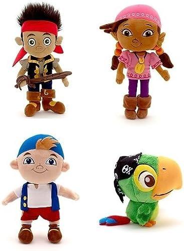 tienda de venta en línea Disney Store Disney Junior Jr. Jake and and and The Never Land Neverland Pirates Plush Stuffed Doll Toy Gift Set Including 12 Jake, 12 Izzy, 12 Cubby and 8 Skully by Disney Interactive Studios  Envio gratis en todas las ordenes