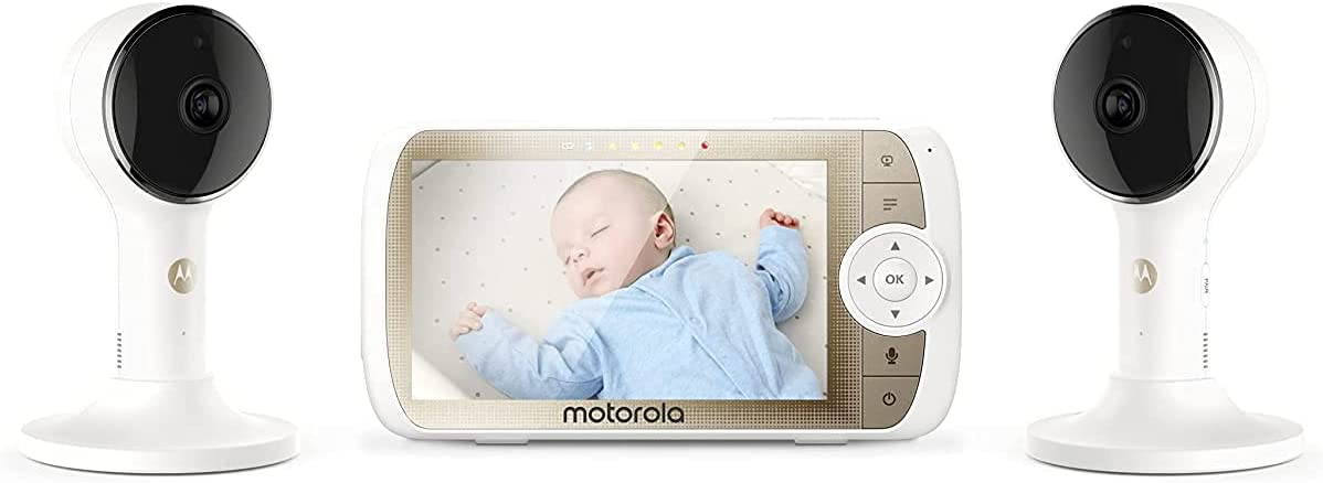 Motorola Connect60-2 Dual Camera Hubble Connected Video Baby Monitor - 5