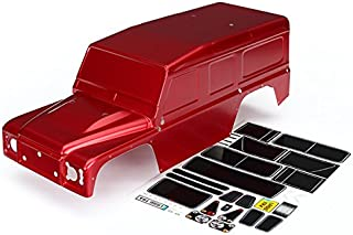 Traxxas 8011R 1/10 Scale Land Rover Defender Body Toy, Red
