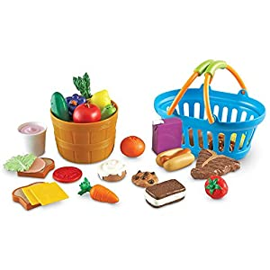Learning Resources New Sprouts Deluxe Market Set, Play Food, Grocery Play Toy, 32 Piece Set, Ages 2+ - 51YtNUDSk0L - Learning Resources New Sprouts Deluxe Market Set, Play Food, Grocery Play Toy, 32 Piece Set, Ages 2+