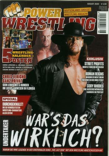 Power Wrestling 8/2020