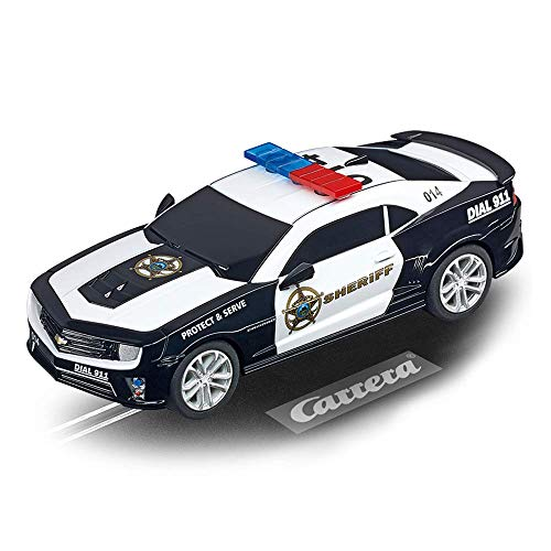 Carrera Go!!! - 20064031 - Voiture De Circuit - Chevrolet Camaro - Sheriff