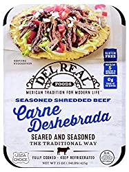 Del Real Seasoned Shredded Beef (Carne Deshebrada), 15 oz