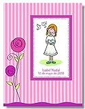Edicromo Album-Libro Comunión 30x24cm, Rosa