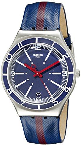 Swatch YGS467 Irony Reloj analógico de Cuarzo Suizo de Dos Tonos