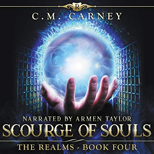 Couverture de Scourge of Souls: An Epic LitRPG/GameLit Adventure