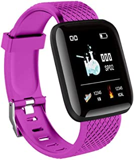 Layopo Smart Watch, 2019 Latest Fitness Tracker Watch And Heart Rate Monitor, IP45 Waterproof Smart Bracelet Pedometer For Android And IPhone