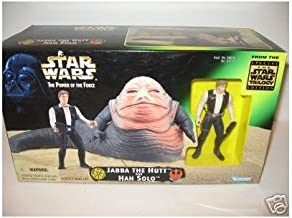 Star Wars The Power of the Force Jabba the Hut and Han Solo