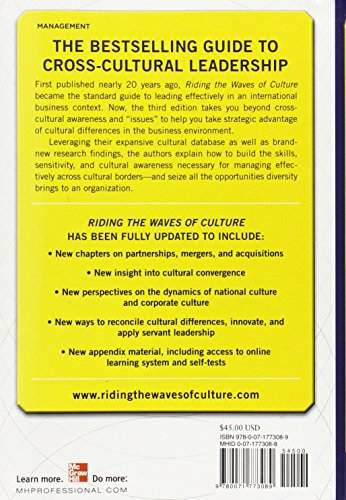 Riding the Waves of Culture: Understanding Diversity in Global Business 3/E