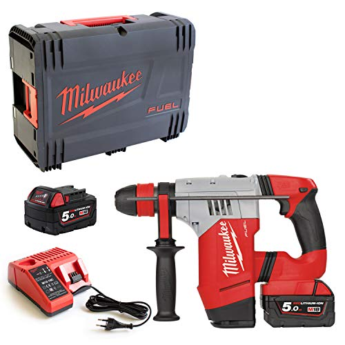 Milwaukee 4933451380 Akku-Bohrhammer M18CHPX/5.0 Ah, 12 W, 12 V