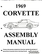 1969 CORVETTE FACTORY ASSEMBLY MANUAL - Complete, Exploded Views of Parts - All Models Convertible and Hardtops