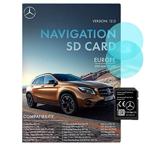 Mercedes Sat Nav SD Card Garmin Map Pilot STAR2 v12 Europa 2019 - A2189065503 Garmin SD Card Mercedes Sat Nav SD Card Mercedes Benz SD Card 2019