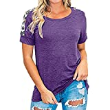 Camiseta de Mujer Tops para Mujer Costuras de Color Tops Estampados Moda Blusa de Verano Suelta Camiseta para Mujer Camiseta de Cuello Redondo Manga Corta Camisetas de Verano Leopard Graphic Tees