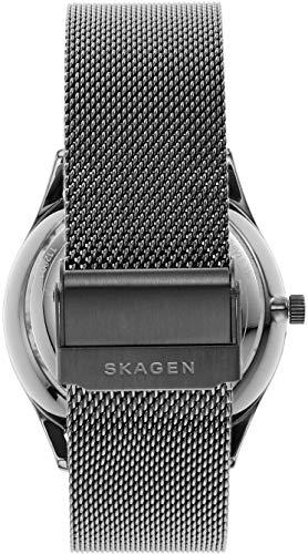 SKAGEN(スカーゲン)『HOLSTオートマティックガンメタルスチールメッシュウォッチ(SKW6614)』