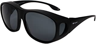 Polarized Solar Shield Fit Over Glasses Driving Sunglasses for Men and Women