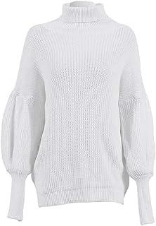 Cárdigans para Mujer Suéter Elegante Clásico de Cálida con Casual Suéter Abrigo de Outwear Cuello Redondo Manga Larga Suel...
