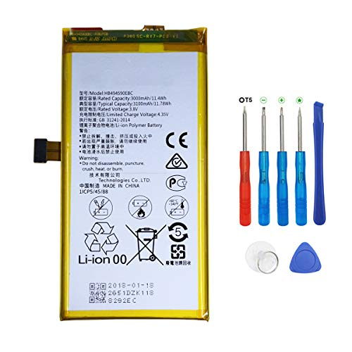 swark batería HB494590EBC para Huawei Honor 7 con Herramientas