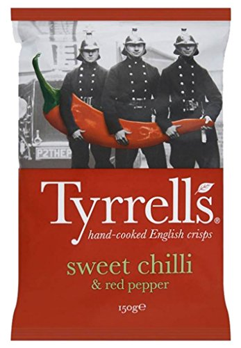 Tyrrell's Chips Sweet Chili 150G (Lot 10 Beutel X 3)