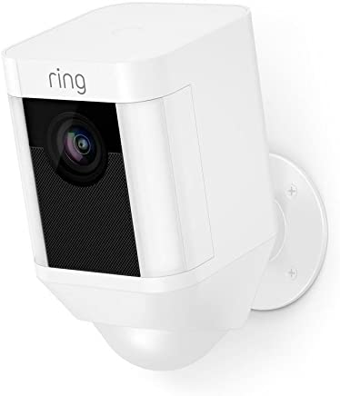 Ring Spotlight Cam Battery HD Security Camera with Built...