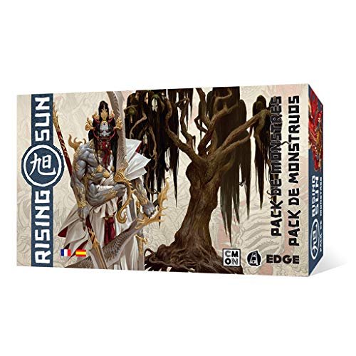 Edge Entertainment- Rising Sun: Pack de Monstruos, Color (EECMRS04)