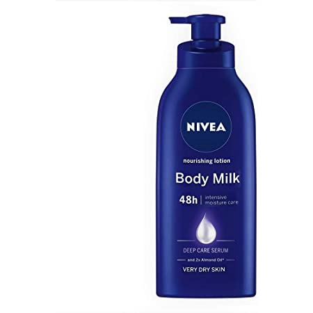 NIVEA Body Lotion, Nourishing Body Milk, For Very Dry Skin, 600ml