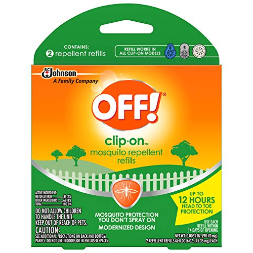 OFF! Clip On Refills, 2 CT (Pack of 5)