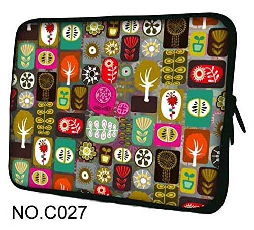 Caodong Multifunction 7 9 7 10 10 1 11 6 12 13 3 14 4 15 15 6 17 17 3 inch laptoptas netbook hoes notebooktas Voor HP ASUS Acer 14-inch Plant
