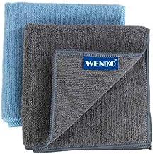 WENKO Microvezel-vaatdoeken, 2-delige set, universeel inzetbare reinigingsdoekje, extra absorberende keukendoekjes zonder ...