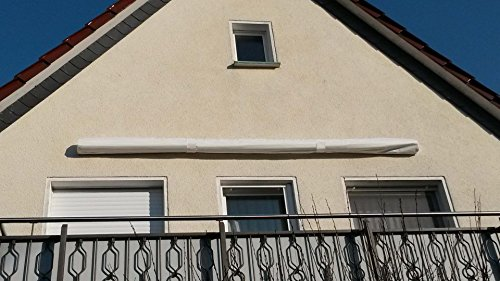 GRASEKAMP Qualität seit 1972 Schutzhülle Wandmarkise Markise Markisenabdeckung 295cm