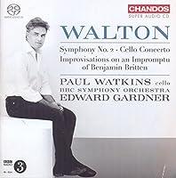 Sir William Walton: Symphony No. 2 - Cello Concerto by Paul Watkins