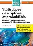 Statistiques descriptives et probabilités - Licence 1, préparation aux concours et formation continue (2021)