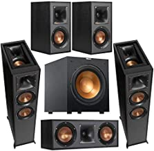 Klipsch Reference 2X R-625FA Dolby Atmos Floor Standing Speaker Bundle with R-12SW 12