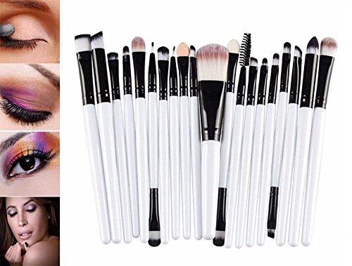 Cdet 20 Pcs Make-up Pinsel Lange Pole Kosmetik Pinsel Für Beauty Augenbürste Schönheitswerkzeuge...