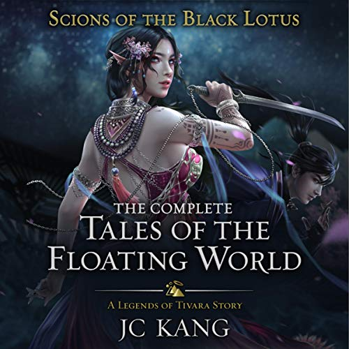 Couverture de Scions of the Black Lotus: The Complete Tales of the Floating World