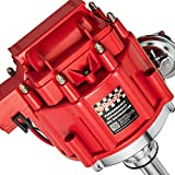 Bravex High Performance Red Cap HEI Distributor for Chevy gm SBC 283 305 307 327...