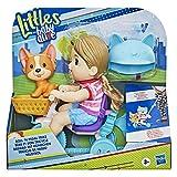 Littles by Baby Alive, Triciclo Roll 'n Pedal, Triciclo de muñeca con Empuje, muñeca de Jade, Accesorio para Mascotas, Juguete para niños de 3 años en adelante