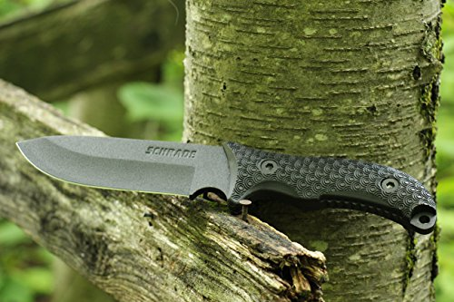 Schrade SCHF36 Frontier Full Tang Drop Point Camping Knife