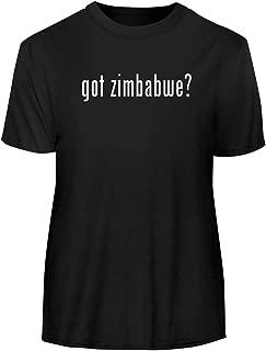 One Legging it Around got Zimbabwe? - Men's Funny Soft Adult Tee T-Shirt