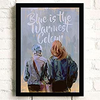 Klassieke Film La Vie D'Adèle Romantiek Liefde Posters Kwaliteit Canvas Schilderij Art Thuis Wall Decor Foto A1059 50×70 C...