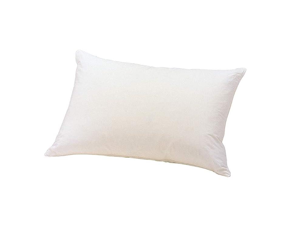 ライター震え上向きフランスベッド 枕 ホワイト 50x70 フェザーピロー 76468168