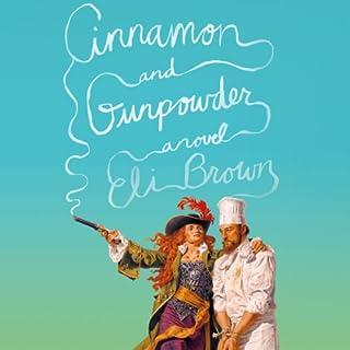 Cinnamon and Gunpowder audiobook cover art