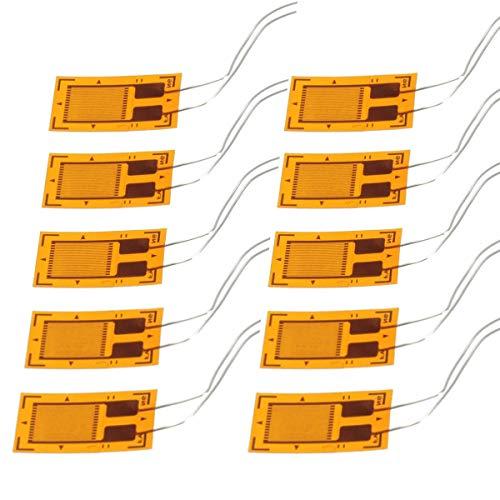 YOUMILE 10er Pack BF350-3AA BF350 350 Ohm Hochpräzises Druckwiderstands-Dehnungsmessgerät