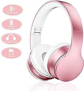 comprar comparacion Ifecco Bluetooth Estéreo Auriculares Música Sobre-oído Sonido de alta fidelidad, Bluetooth Banda para la cabeza plegable c...