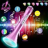 Micrófono Inalámbrico Karaoke Bluetooth Niños con Altavoz Portátil,microfono inalambrico karaoke bluetooth Reproductor Máquina...