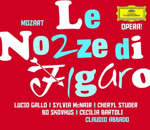 Sylvia McNair, Cheryl Studer, Boje Skovhus, Cecilia Bartoli, Wiener Philharmoniker & Claudio Abbado