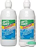 Opti-Free Replenish Multi-Purpose Disinfecting Solution Twin Pack, 20 Ounce (Packaging May Vary) by Opti-Free