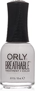 Orly Breathable Nail Color, Barely There, 0.6 Fluid Ounce